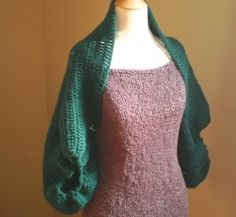 Cocoon Cardi Crochet pattern from Anne Potter...looks like an easy one??