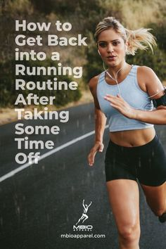 There are all kinds of reasons why runners take time off. Life gets busy, no doubt about it. Running Routine, Running Plan, How To Start Running, Running Workouts, How To Run Faster, Running Tips, Workout Routines, Marathon Tips, Half Marathon Training