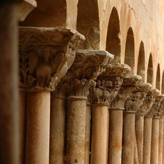The Valley of the Arlanza River >> The Cloister of Silos > Romanesque cloister of Silos - XI-XII century