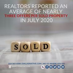 With so much buyer interest in the limited number of houses going up for sale right now 🏡 many hopeful homebuyers are being faced with competition when they put an offer on a house 📲 DM us so we can go over what you need to know to successfully navigate a bidding war. #dallasnativeteam #dpmre #dallasrealestate #realestate #biddingwars #buyingahome #expertanswers #stayinformed #staycurrent #powerfuldecisions #confidentdecisions #realestatemarket #realestateexperts #instarealestate #instarealtor Dallas Real Estate, Real Estate News, Real Estate Marketing, Home Buying, Need To Know, Competition, Houses, War, Number