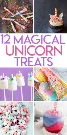 12 magical unicorn sweets and treats to make