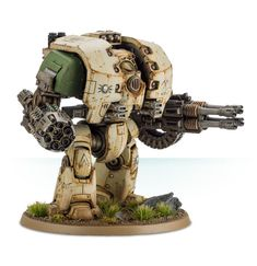 Leviathan Pattern Siege Dreadnought with Storm Cannon and Grav Flux Bombard