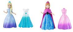 Disney Frozen Magiclip Anna and Elsa Doll Bundle