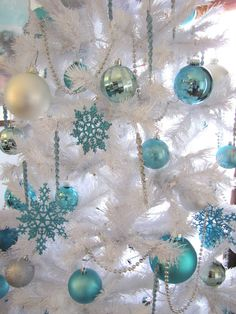 1000+ images about Christmas - Turquoise Christmas on Pinterest ...
