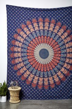 red white and blue tapestry Colorful Tapestry, Blue Tapestry, Room Goals, Unique Outfits, New Room, Home Gifts, Dorm Room, Red And White, Sweet Home