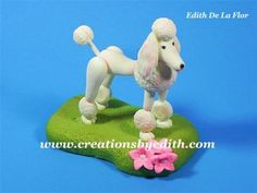 FRENCH POODLE SILICONE MOLD