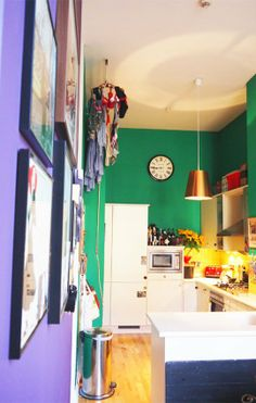 Lizzie and Phil's Bold and Playful West-End Pad House Tour | Apartment Therapy