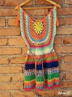 Diy Crochet Top, Crochet Skirts, Crochet Tunic, Crochet Jacket, Freeform Crochet, Love Crochet, Crochet Clothes, Costume, Knitting