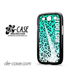 Nike Just Do It Leopard DEAL-7878 Samsung Phonecase Cover For Samsung Galaxy S3 / S3 Mini