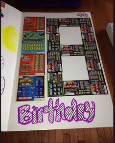 Lottery Present Idea 1 From Me And Kammi 18th Birthday Ideas