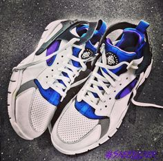 #SkeeLocker 162/365: Huarache 2012 BBall QS... An old school classic mixed w/current tech. Old school Sneakerheads love these
