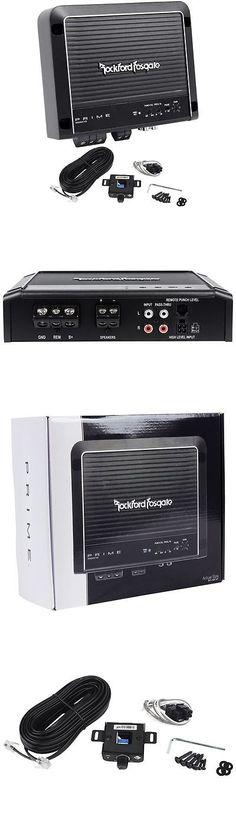pioneer dxt x2669ui am fm cd mp3 usb aux in put 200 watts car amplifiers rockford fosgate prime r500x1d 500 watt rms mono car audio class d amplifier