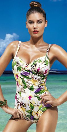 737d89b061 Buy David Lady Club Sabbia Print Swimsuit from the world s best choice of  designer swimwear. David Lady Club Sabbia Print Swimsuit is in stock and  usually ...