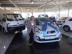 Congratulations to Ms Harker with the purchase of her new Kia Picanto in November 2014. Thank you to Neville de Wee who made this possible. Welcome to the Kia Family.
