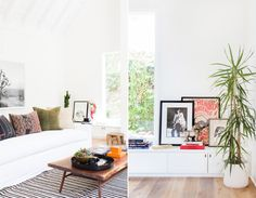 A Crisp, Edgy, and Eclectic Family Home – Style Me Pretty