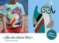 """Applikationsvorlage """"Kai, der kleine Hai"""""""