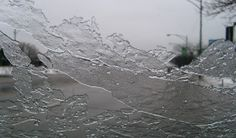 Prevent ice from forming on a car windshield overnight.         Coat the window with a solution of three parts vinegar to one part water.