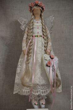 Куклы Тильды ручной работы. Ярмарка Мастеров - ручная работа Фиора. Handmade.