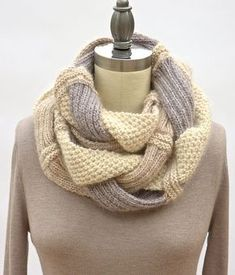 Оригинальный шарф снуд