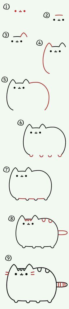 Como dibujar a Nyan cat :3 xD