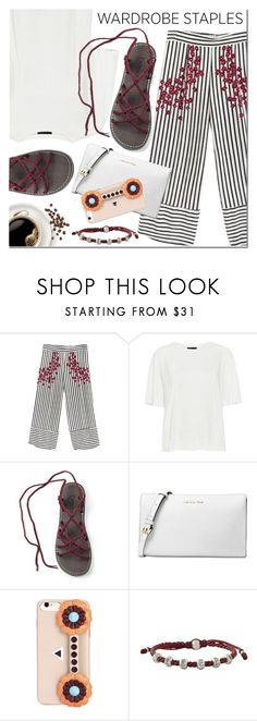 """""""Untitled #3200"""" by mada-malureanu ❤ liked on Polyvore featuring WithChic, Theory, Michael Kors, Fendi and NOVICA"""