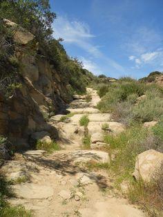 California Landmarks - Los Angeles - Chatsworth - Old Santa Susana Stage Road (1861)