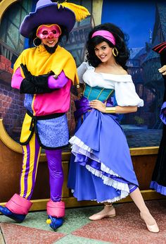 Clopin and Esmeralda ~ Hunchback of Notre Dame