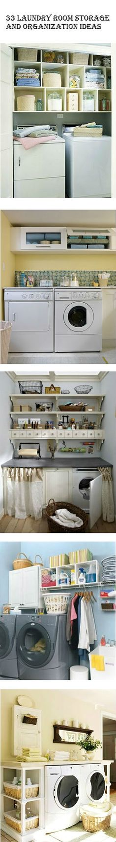 33 Laundry Room Storage and Organization Ideas | DIY Comfy Home by DIYNCraftz