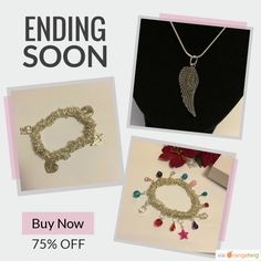 Check out our discounted products now:  #etsyseller #etsyfaves #jewelry