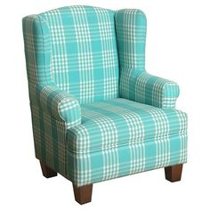 Indulge Them With The Homepop Cambridge Juvenile Wingback. Anderson  Juvenile Wingback Chair Kids ...