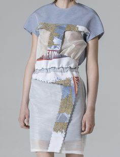 Minki Cheng - a graduate from CSM in 2012. London fashion designer