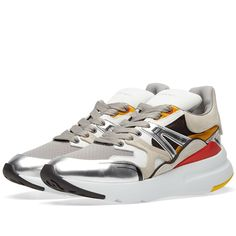 first rate 36886 be2d3 ALEXANDER MCQUEEN ALEXANDER MCQUEEN PATCHWORK RUNNER. alexandermcqueen  shoes