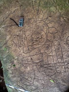 """Wise Man"" Petroglyph Found in Veracruz"