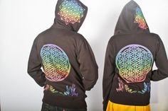 Crystal infused hoodie. XL