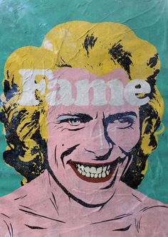 David Bowie Pop Culture Posters