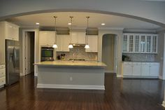 Kitchen color ... Sherwin Williams Front Porch (Shades of Gray Paint - LaForce Be With You)