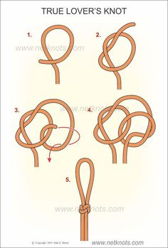 True Lover's Knot tutorial knots celtic How to tie a True Lover's Knot illustrated, animated and explained by NetKnots Jewelry Knots, Bracelet Knots, Crochet Bracelet, Celtic Knot Bracelets, Celtic Knots Diy, Celtic Knot Tutorial, Lanyard Knot, The Knot, Rope Knots
