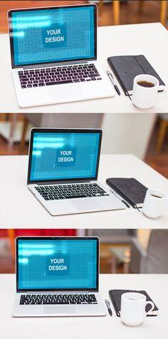 Free Apple Macbook Pro Mock Up #freepsdfiles #freepsdmockups #freebies #vectorgraphics