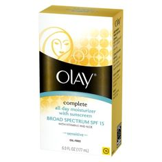Olay Complete All Day Moisturizer With SPF15 - Sensitive 6 oz