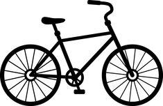 Bicycle With Basket Drawing Related Keywords & Suggestions ...