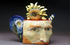 Crossconnectmag: U201c The Humorous Ceramic Tea Pots And Old Master Art Of Noi  Volkov Art History Has Always Been A Passion Of Mine.