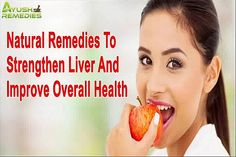 You can find more details about the natural remedies to strengthen liver at http://www.ayushremedies.com/liver-detox-supplements.htm Dear friend, in this video we are going to discuss about the natural remedies to strengthen liver. Strengthening liver is something that can contribute towards overall health improvement.