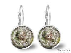Ohrringe Pusteblume von Feenperlen auf DaWanda.com