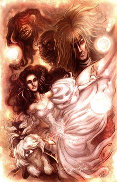 Labyrinth -Glow Edition by SpookyChan.deviantart.com on @DeviantArt