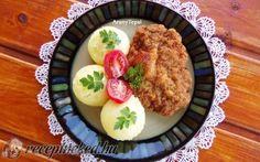 Kétsajtos rántott szelet darált húsból recept fotóval