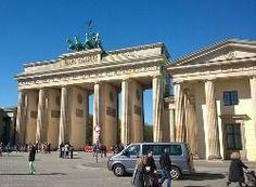 Portão Brandemburgo em Berlim.Neoclassicismo