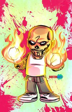 El Diablo Suicide Squad by DustinEvans on DeviantArt