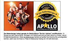 Die Babenberger erneut auf Platz 2 im Newcomer Voting auf www.schlagerportal.com Album, September 2014, Movie Posters, Movies, Musical Composition, Music, 2016 Movies, Film Poster, Films