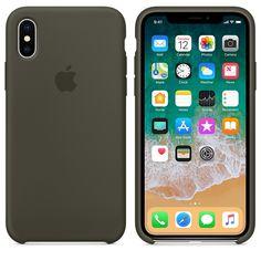 more photos 1f4f2 7b0d3 iPhone X Silicone Case - Dark Olive Iphone 8 Plus, Iphone 5s, Coque Iphone