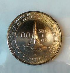 Moneda plata 400 soles de oro por el sesquicentenario de la batalla de Ayacucho